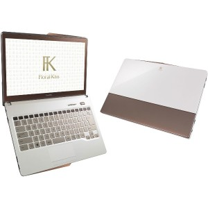 新品 富士通 FMV LIFEBOOK Floral Kiss CH75/R FMVC75RW [Clear White with Brown].