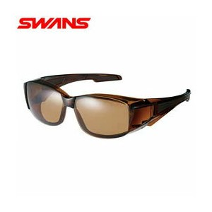 【偏光レンズ】SWANS Over Glasse OG6-0065 BRCL