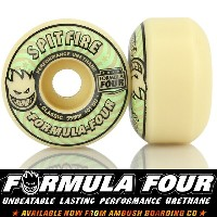 SPITFIRE スピットファイア Formula Four Classic Wheels 101DU LIT Glow In The Dard 52/53/55mm スケートボード スケボー...