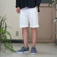 MASTER&Co.(マスターアンドコー)/CHINO SHORTS with BELT -(80)WHITE-