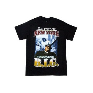 ●HORIZON KING OF NEW YORK T-SHIRTS (BLACK)アーティストTシャツ(RAP/PUNK T-SHIRTS)/黒