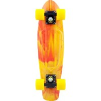 Penny Complete 22-Inch Marble Skateboard Yellow/Red by Penny