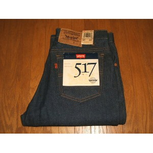LEVIS(リーバイス) 517 ブーツカット Lot 20517-0217 1980年代 MADE IN USA(アメリカ製) 実物デッドストック W30×L34