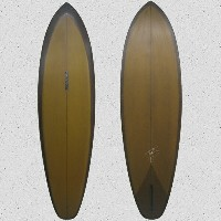 ★ MADE IN CALIFORNIA ★ Jeff McCallum surf board Mini Mac D 6'6 Surfboard