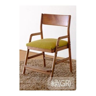 ISSEIKI DESK CHAIR デスクチェア 選べるカラー 幅45 (MBR/WH+GR) 木製家具 FIORE DESK CHAIR (MBR/WH)+COVER (GR)