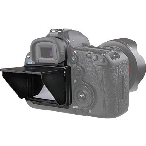 qeento 液晶シェード 液晶フード 液晶保護 カバー (5D Mark IV/5D Mark III/5Ds/5DsR用)