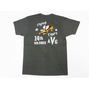 Buzz Rickson's[バズリクソンズ] Tシャツ BR77697 14th AIR FORCE (オリーブ)