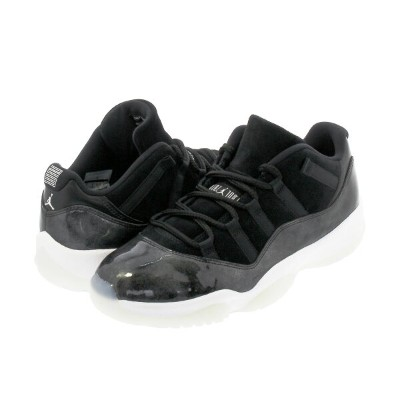 NIKE AIR JORDAN 11 RETRO LOW 【BARONS】 ナイキ エア ジョーダン 11 レトロ ロー BLACK/METALLIC SILVER/WHITE 528895-010