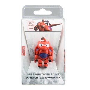 ユニセックス TRIBE BIG HERO 6 - BAYMAX ARMORED USB KEY 16GB USBメモリー レッド