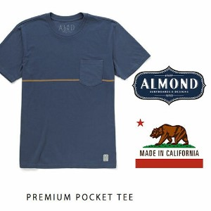 【MADE IN CALIFORNIA】ALMOND SURFBOARDS (アーモンドサーフボード) Premium Pocket TEE 10P03Dec16