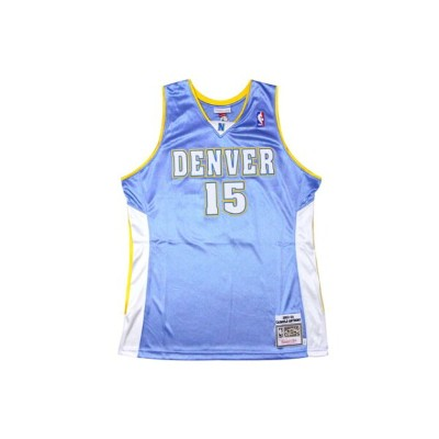●MITCHELL&NESS AUTHENTIC THROWBACK JERSEY (NBA/DENVER NUGGETS/03-04/CARMELO ANTHONY: LIGHT BLUE...