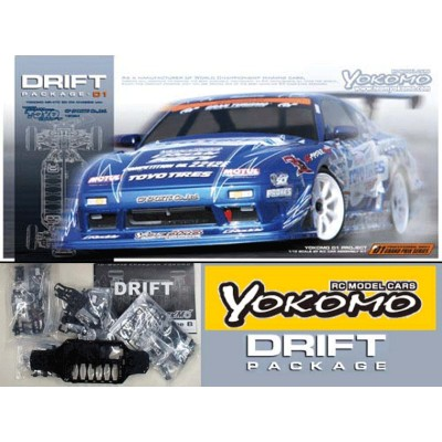 ヨコモ ドリパケ Team TOYOTIRES DRIFT with GP SPORTS 180SX #DP-TY180A
