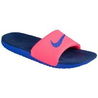 (取寄)Nike ナイキ レディース カワ スライド Nike Women's Kawa Slide Hot Punch Paramount Blue