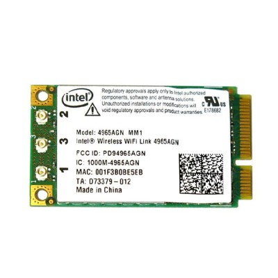 インテル Intel Wireless WiFi Link 4965AGN 802.11a/b/g/n 300Mbps PCIe Mini 無線LANカード