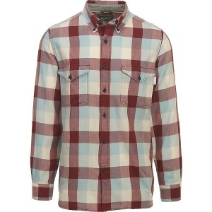 ウールリッチ メンズ トップス 長袖シャツ【Woolrich Stone Rapids Eco Rich Modern Shirt】Antique Red Buffalo