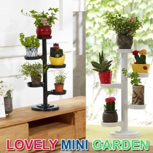 Lovely Mini Garden★Multi-layer Plant Display Stand High Quality ★1+1 Sale Indoor/Outdoor Movable...