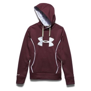 アンダーアーマー レディース トップス パーカー【Under Armour UA Storm Caliber Hoody】Ox Blood / Ridge Reaper Camo Snow /...