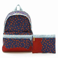 LeSportsac BASIC BACKPACK 7812 G247 PEEK A BOO NAVY ベーシック バックパック レディース ツモリチサト コラボ リュックサック バッグ...