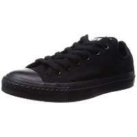 [コンバース] CONVERSE CANVAS ALL STAR OX  BLACK MONOCHROME (ブラックモノクローム/US10.5(29cm))