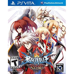 BlazBlue Chrono Phantasma EXTEND (輸入版:北米) - PS Vita
