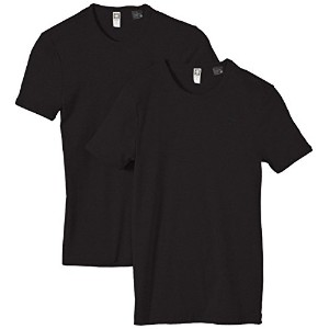 (ジースター ロゥ)G-Star Raw Base R t s/s Tシャツ2pack 8754-124-990 990 黒 S