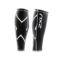 (ツータイムズユー)2XU Compression Calf Guard UA1987b  BLACK L
