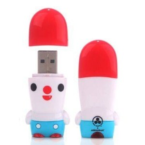MIMOBOT(ミモボット)ブリックル by Friends with you X MIMOBOT 8G USB メモリー