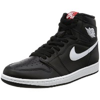 "[ナイキ ジョーダン] スニーカー AIR JORDAN I RETRO HIGH OG ""YIN YANG PACK""  555088-011 BLK/WHT/RED ブラック US 10.5..."