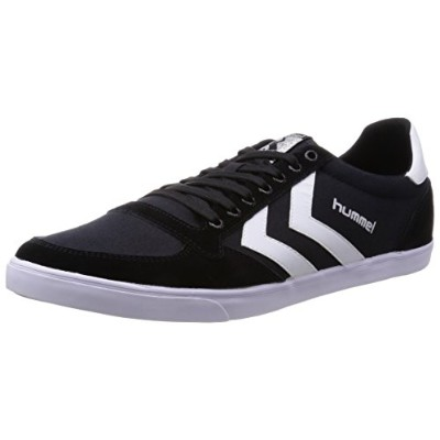 [ヒュンメル] hummel Slimmer Stadil Low Canvas HM63112 2114 (Black/White/37)