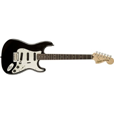 Squier by Fender エレキギター Deluxe Hot Rails™ Stratocaster®, Black