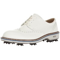[エコー] ゴルフシューズ MEN'S GOLF LUX 142504 50874 White EU 44(27.5cm)