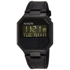 [ニクソン]NIXON RE-RUN LEATHER: BLACK CROC NA944840-00  【正規輸入品】