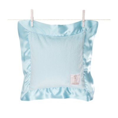 Little Giraffe Luxe Pillow (Aqua)