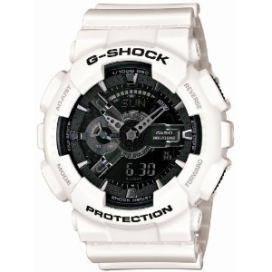 [カシオ]Casio 腕時計 G-SHOCK ジー・ショック White and Black Series GA110GW7AJF メンズ