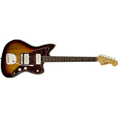Squier by Fender エレキギター Vintage Modified Jazzmaster, Laurel Fingerboard, 3-Color Sunburst
