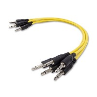 KORG パッチケーブル セット MS-CABLE-YL 5本入り イエロー