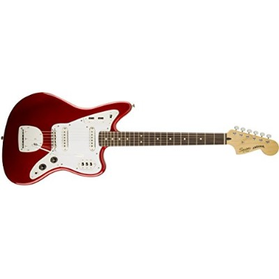 Squier by Fender エレキギター Vintage Modified Jaguar, Rosewood Fingerboard, Candy Apple Red