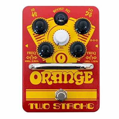 ORANGE Two Stroke: Boost EQ guitar effects pedal イコライザー付きブースター TWO STROKE