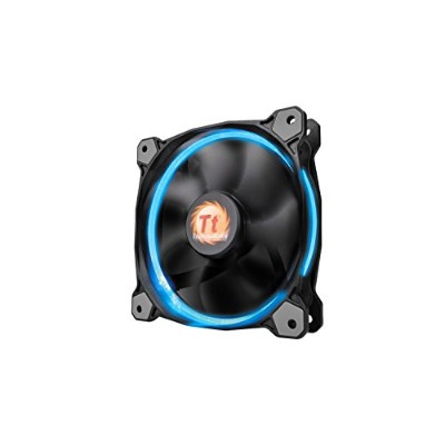 Thermaltake Riing 14 - 256Color LED LEDリングを装着した水冷ラジエーター向けPCケースファン FN972 CL-F043-PL14SW-A
