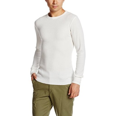 (アヴィレックス) AVIREX THERMAL CREWNECK TEE 6153515 02WHITE WHITE L