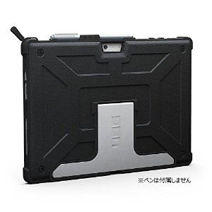 【日本正規代理店品】URBAN ARMOR GEAR Microsoft Surface Pro ケース (Designed for Surface)  ブラック UAG-SFPRO4-BLK