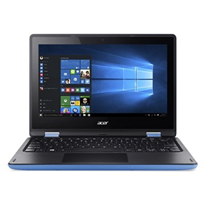 Acer ノートパソコン AspireR11 R3-131T-F14D/BF(ブルー) Windows10/Celeron/11.6インチ/4GB/500GB/Microsoft Office搭載