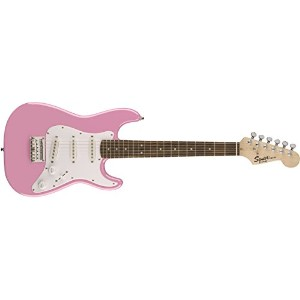 Squier by Fender スクワイア エレキギター Mini Strat®, Pink