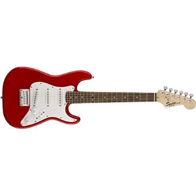 Squier by Fender エレキギター Mini Strat, Laurel Fingerboard, Torino Red