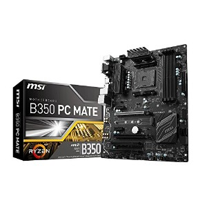 MSI B350 PC MATE ATXマザーボード [AMD RYZEN対応 socket AM4] MB3912