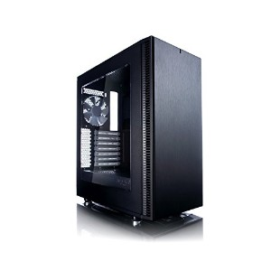 Fractal Design Define C Black Window ATX用PCケース スチール サイドパネル Windowタイプ CS6472 FD-CA-DEF-C-BK-W