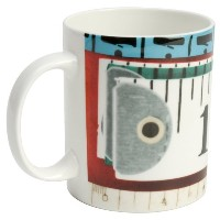 W2 (ダブルツー) EAMES MUG(TAPE MEASURES) W2-EA51
