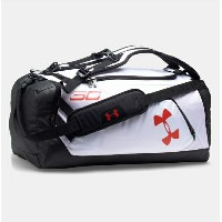 Under Armour SC30 Storm Contain Duffle Backpack White/Black アンダーアーマー ステフィン・カリー バックパック リュック ダッフルバッグ