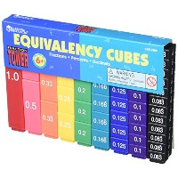 Learning Resources Fraction Tower Equivalency Cubes 【知育玩具 算数教材】 分数学習 タワーキューブ 正規品