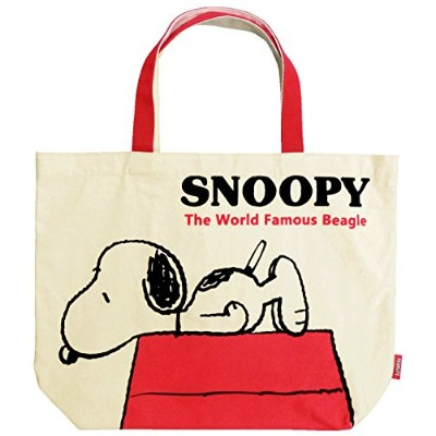SNOOPY ビッグトートバッグ ルーフ